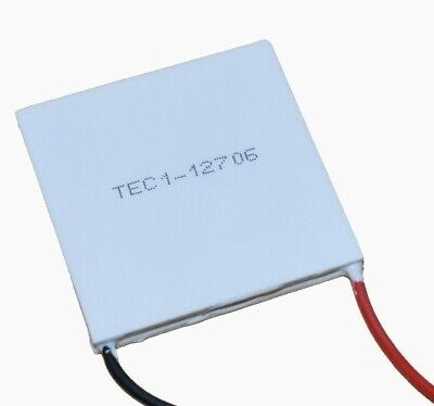 Thermoelectric Peltier Cooler Module Chip Tec1-12706 12v 6a 60w
