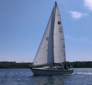 O'Day 34 sloop: fast, roomy cruiser at a great price