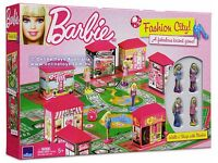 Barbie Fashion City Fabulous Board Game 2011 Brand New & Sealed