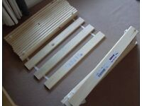 MORE REDUCED brand new Ikea slatted bed basis solid wood