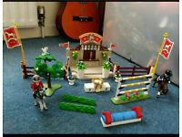 Playmobile horse arena
