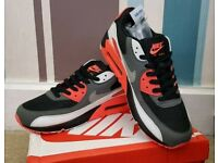 Brand New Nike Air Max 90 - Red/Black/White