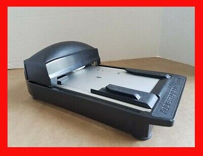 Addressograph Newbold Model Manual Credit Card Slider Imprinter Portable Nice