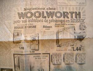 Vieux Journal La Maskoutaine Vintage Saint-Hyacinthe Québec image 6