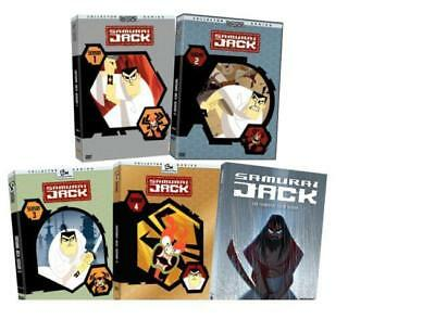Samurai Jack Complete Tv Series Seasons 1 5 Dvd Full Seasons Free Exp Shipping