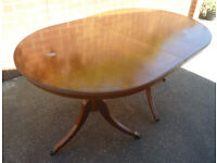 Large Extendable Dining Table Up To 7 Feet Long