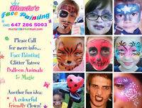 Awesome Face Painting Toronto.. Marla's Face Painting