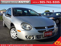 2005 Dodge SX 2.0 | 99Km | SAFETY & E-TESTED