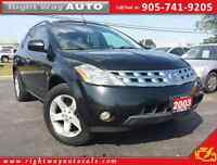 2003 Nissan Murano SL AWD | 185Km | SAFETY & E-TESTED