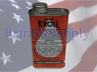 Kano Laboratories Kroil 8oz Kano-Kroil NON-Aerosol Penetrating Lubricant