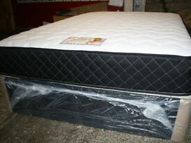 **7-DAY MONEY BACK GUARANTEE!** - Kingsize Luxury Memory Orthopaedic Bed - SAME DAY DELIVERY!