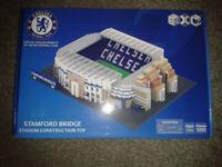 Brand New Boxed Chelsea FC Stamford Bridge BRXLZ Stadium Construction Toy.