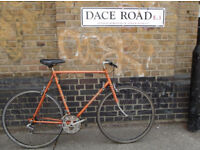 Vintage road bike UNION made in Holland with frame size 23in, MAVIC -12 speed serviced WARRANTY