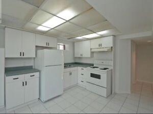 Legal 1 bedroom basement apartment for rent in Pickering!