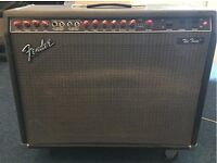 Fender Twin (Red Knob) Guitar Amplifier - Amazing Amp!