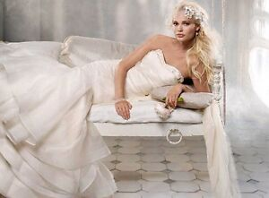 Stunning Alvina Valenta Couture Collection wedding gown