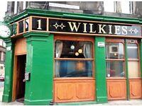 Par Time Barperson for busy Leith Bar