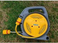 Hoze lock hose pipe reel