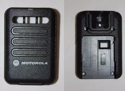 Motorola Minitor Vi 6 Replacement Housing Front Back - Black