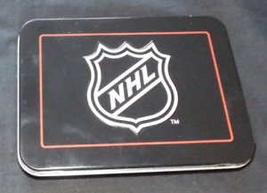 NHL Tin & 2 Packs of Stanley Cup Playing Cards