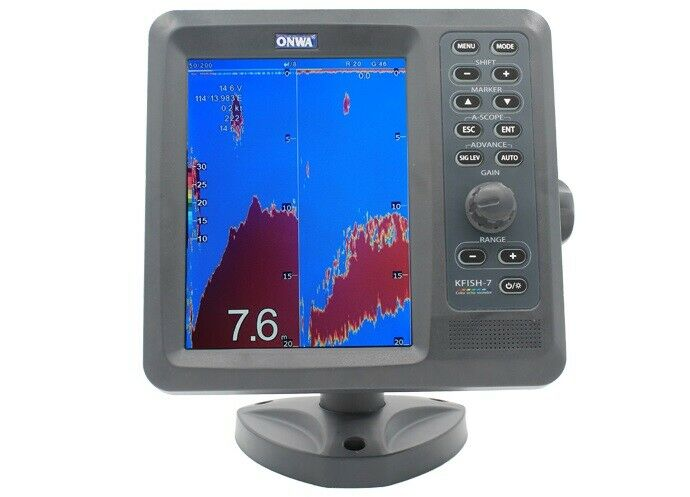 ONWA KFish-7: 7-inch Dual Frequency Fish finder