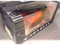 Oakley Flight Deck Snow matte black with torch iridium BNIB