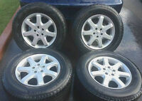 "►►(4) OEM 17"" BENZ ML & GL CLASS 85% MICHELIN TIRES 275/60/17"