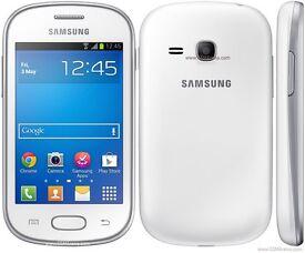 Samsung Galaxy Fame Phone White