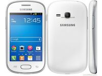 Samsung Galaxy Fame Phone White
