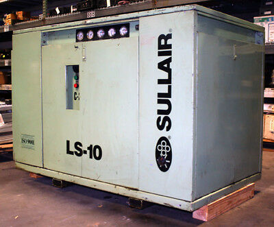 Used Sullair Ls10-40h 40hp Rotary Screw Compressor