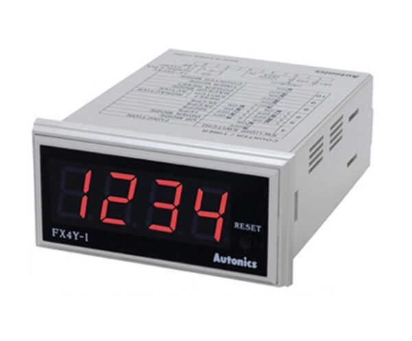 Digital Timer+Counter FX4Y-I 4digit Time range selectable Up/Down counting