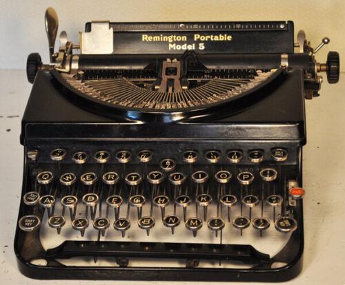 Remington Portable Model 5 antique typewriter