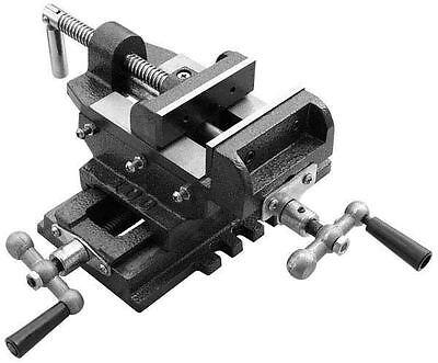 4'' CROSS DRILL PRESS VISE SLIDE METAL MILLING 2 WAY X-Y CLAMP MACHINE Milling Drill Press