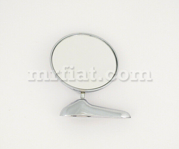 Alfa Romeo Spider Chrome Side View Round Mirror New