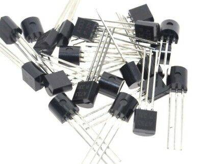 50pcs 25 Pairs Of 2sa733 2sc945 A733 C945 To-92 Audio Transistor Usa Seller