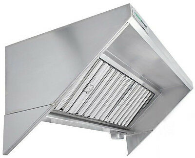 Hoodmart 9 X 30 Type 1 Commercial Kitchen Food Truck - Concession Trailer Hood