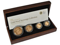 Gold sovereign 3 and 4 coin sets wanted