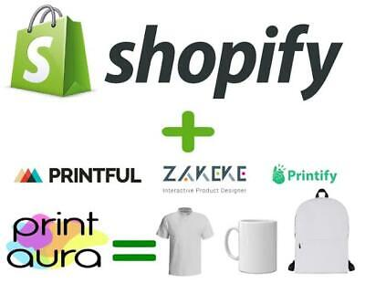 Premium Shopify Print On Demand Store