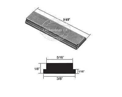 Shower Door Strike Jamb Magnet for Swing Shower Doors - 2-1/