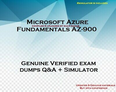 AZ-900 Azure Fundamentals practice Exam questions answers & Simulator