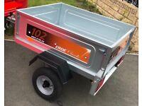 Erde 102 car trailer brand new