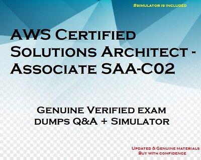 SAA-C02 AWS Certified Solutions Architect Associate practice exam QA + simulator