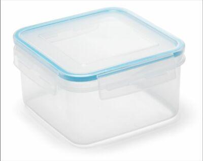 Addis Clip & Close Square Food Storage Container Lunch Box ~ 1.1L 700ml or 300ml Addis Clip