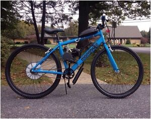 Looking for motorized bicycle