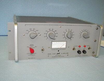 Power Design 1556b Hv 10-6000v Dc Power Supply Hp Keithl