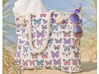 Beautiful beach bag