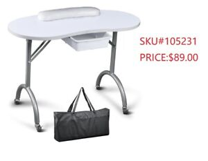 Neuf Table de Manicure /Spa/Nail/Salon Beauté Manicure table