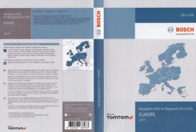 VW Navigation DVD for Blaupunkt EX-V (VX)MFD2 Europa 2017/2018