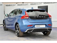 BRAND NEW VOLVO V40 R-DESIGN COMPLETE EXHAUST SYSTEM WITH REAR DIFFUSER AND HEAT SHEILD
