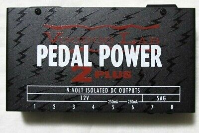 Used Voodoo Lab Pedal Power 2 Plus + Guitar Pedal Power Supply
